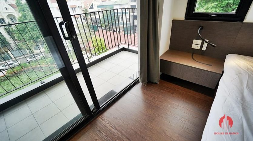 Standard serviced apartment for lease on To Ngoc Van street 6