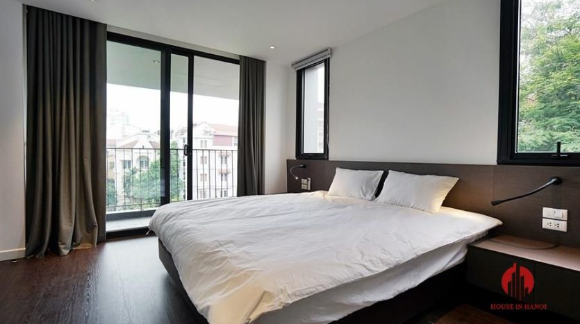 Standard serviced apartment for lease on To Ngoc Van street 7