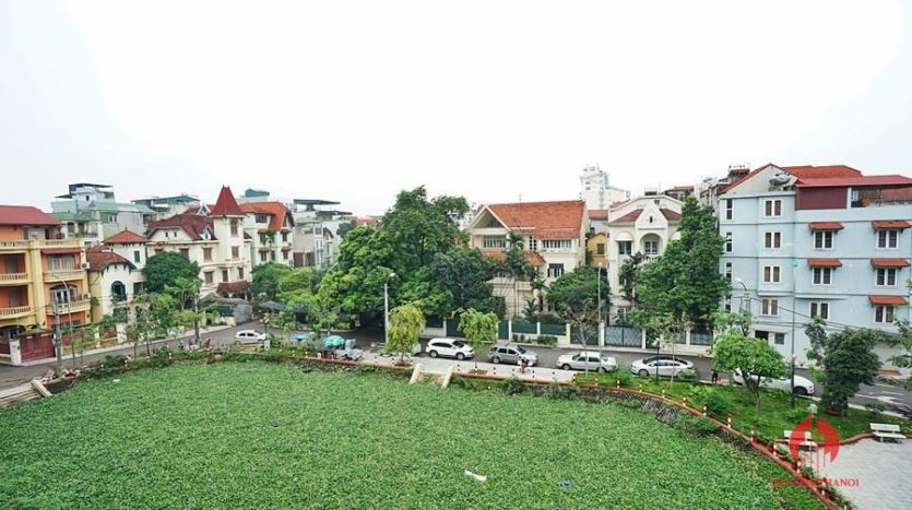 Standard serviced apartment for lease on To Ngoc Van street 9