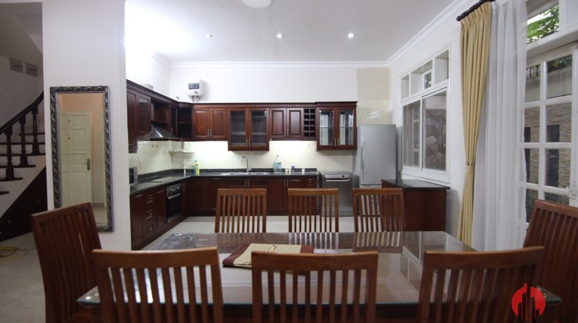 big furnished house for rent in ciputra d4 block 10