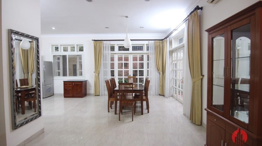 big furnished house for rent in ciputra d4 block 6