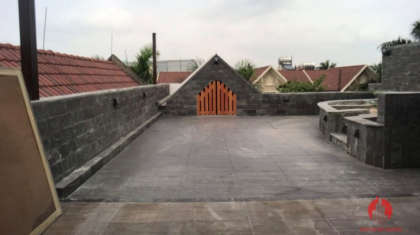 extensively renovated villa with rooftop in ciputra 7