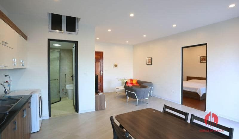 one bedroom apartment for lease in tay ho 8