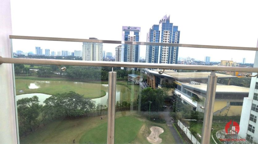 spacious apartment rental with golf view in ciputra 1