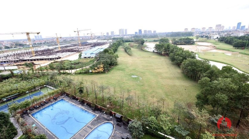 spacious apartment rental with golf view in ciputra 16