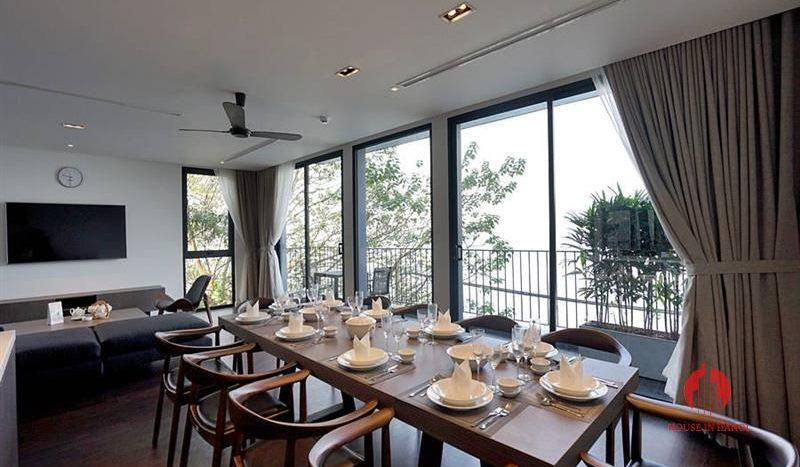 super lake view apartment in tay ho 3