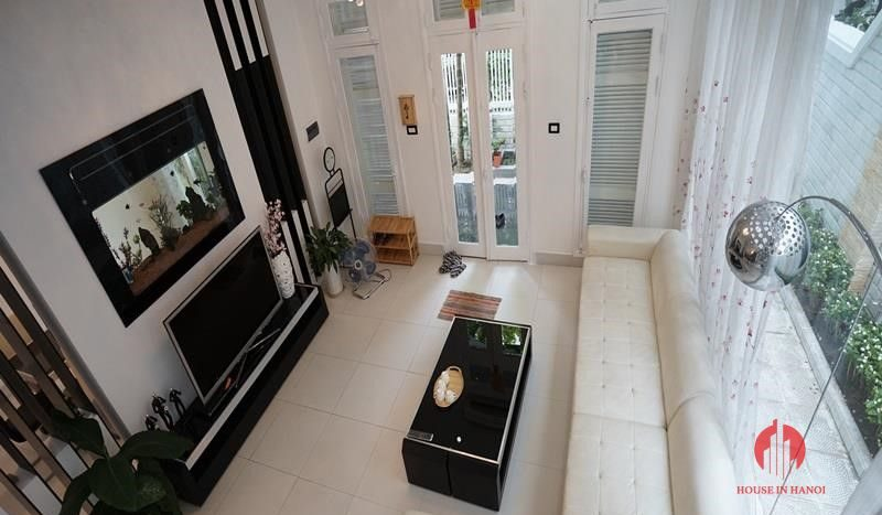 villa for rent in T Block Ciputra 1