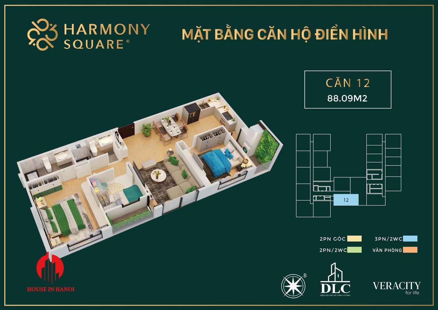 harmony square floor plan 1