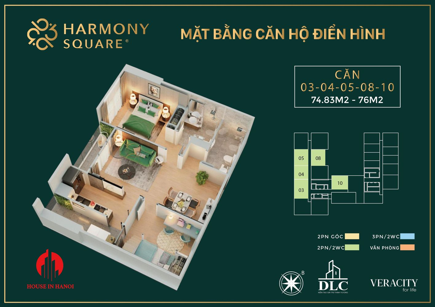 harmony square floor plan 4