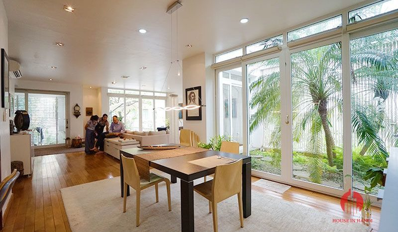 Contemporary villa with pool for lease on To Ngoc Van street Tay Ho 13