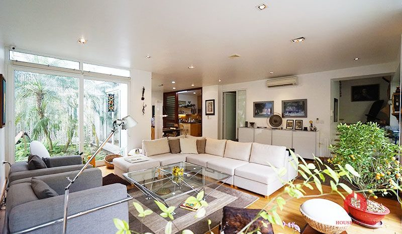 Contemporary villa with pool for lease on To Ngoc Van street Tay Ho 7