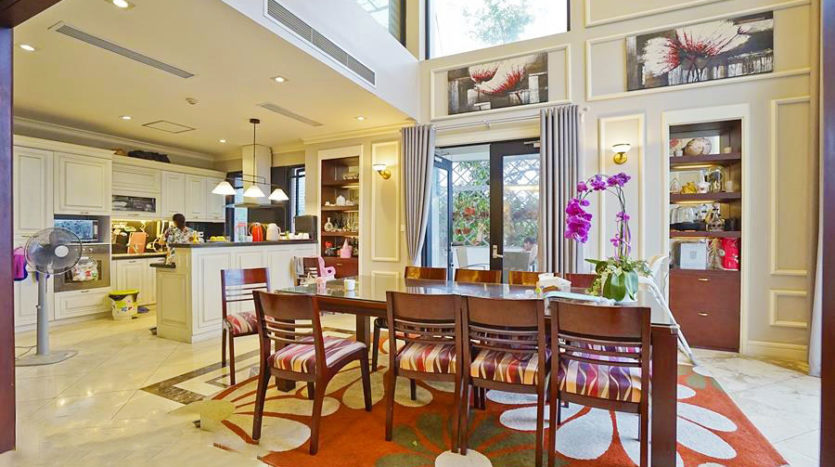 Huge contemporary villa for rent on Au Co street Tay Ho district 12