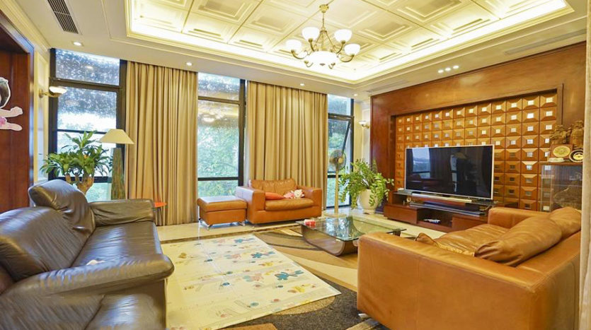 Huge contemporary villa for rent on Au Co street Tay Ho district 13