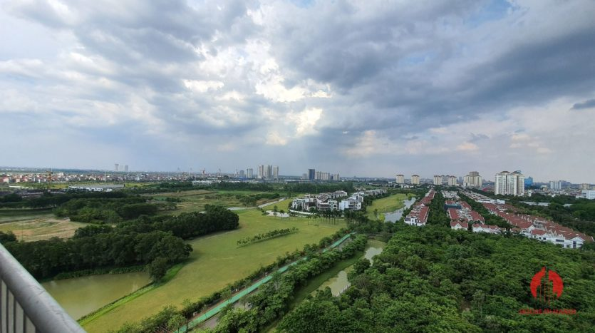 Huge golf view 182m2 apartment for rent in P2 Tower 18
