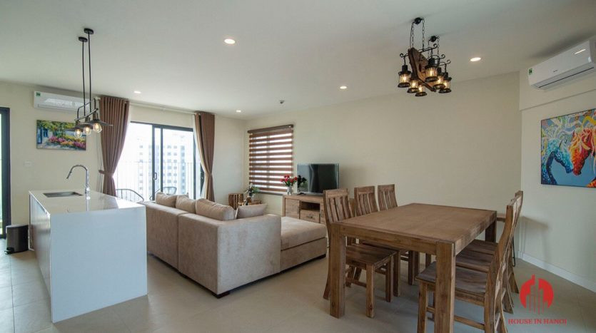 apartment for rent near Embassy of Korea Hanoi 20