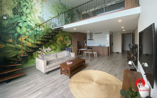 nature inspired apartment for rent in tay ho 1