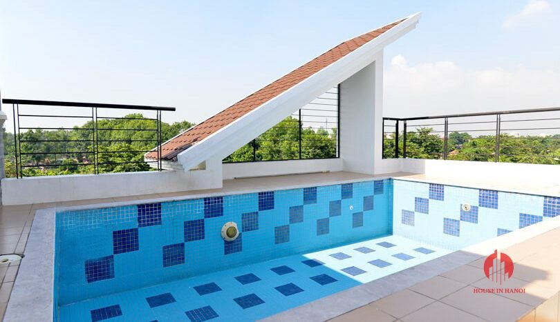 pool rooftop villa for rent in ciputra 1