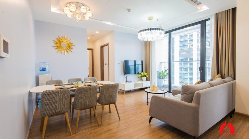 contemporary 2br apartment for lease in hanoi central area 1
