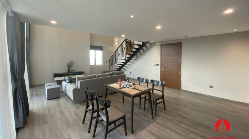 lavish mezzanine apartment for rent on lac long quan street 10