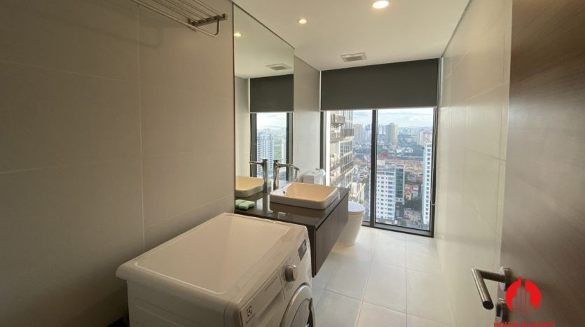 lavish mezzanine apartment for rent on lac long quan street 6