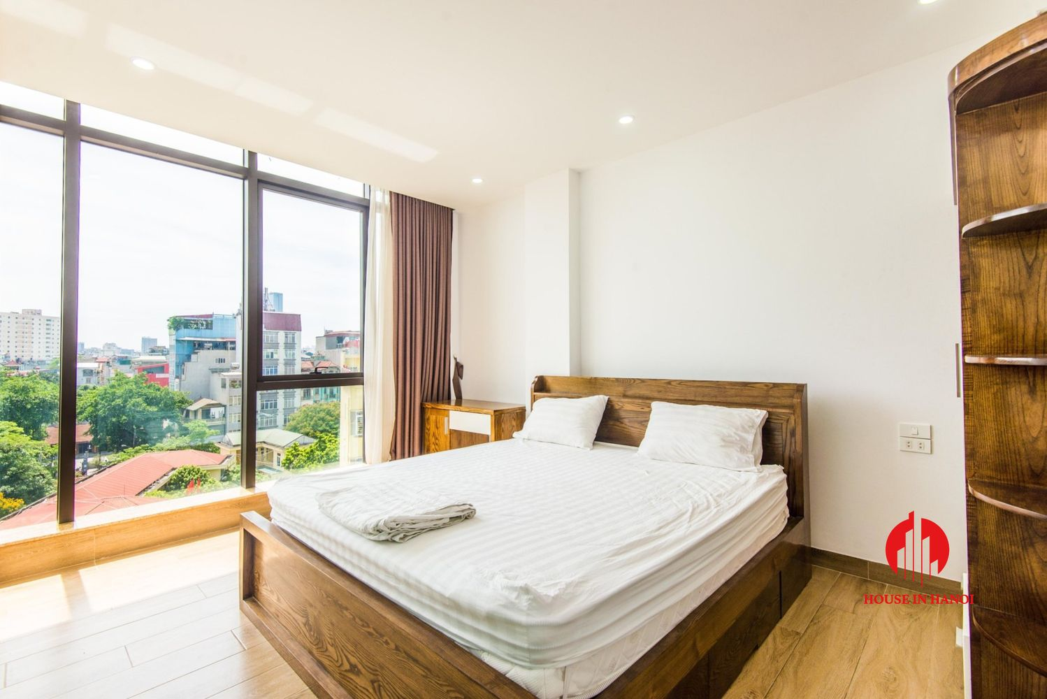 cheap light 1 bedroom apartment for rent in cau giay district