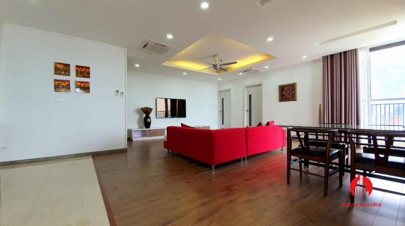 park view apartment for rent in ngoai giao doan 8