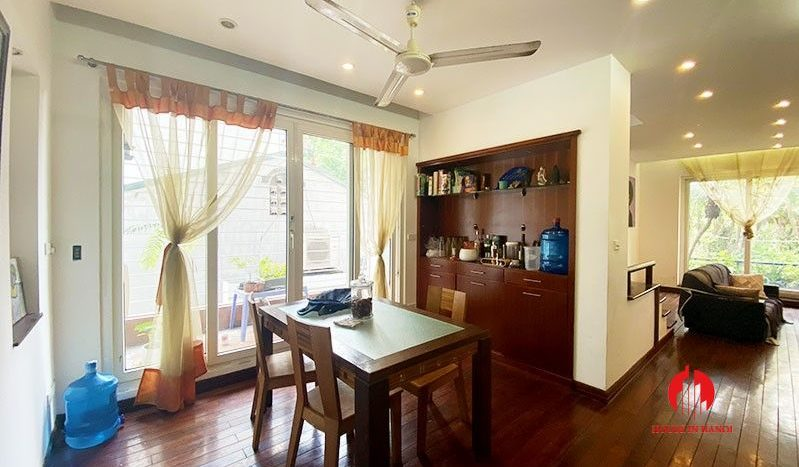 terrace house for rent in tay ho 4