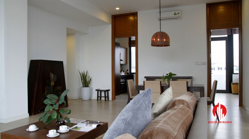 2 bed 1 bath apartment for rent in hoan kiem 1