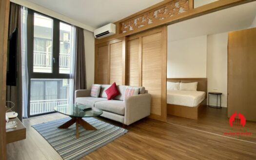 Serviced apartment for rent on lane 32 Dao Tan 4