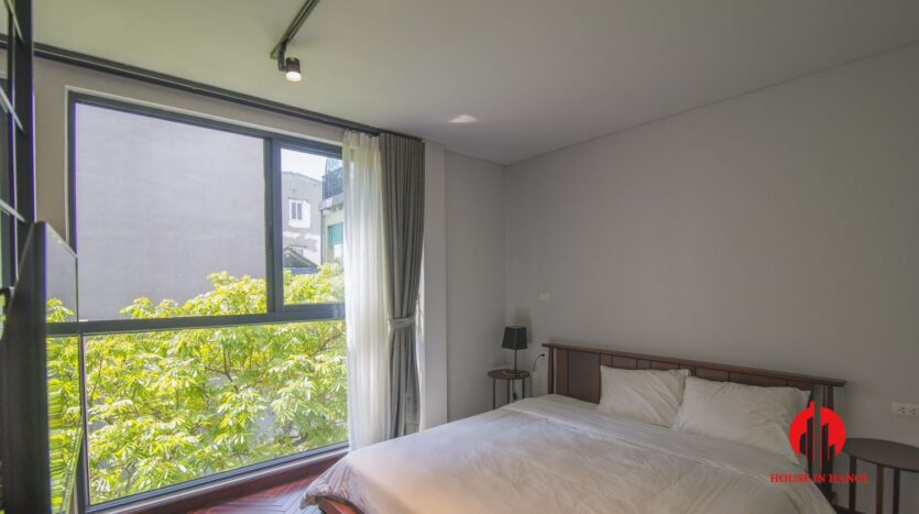 dark themed apartment for rent in tay ho 13