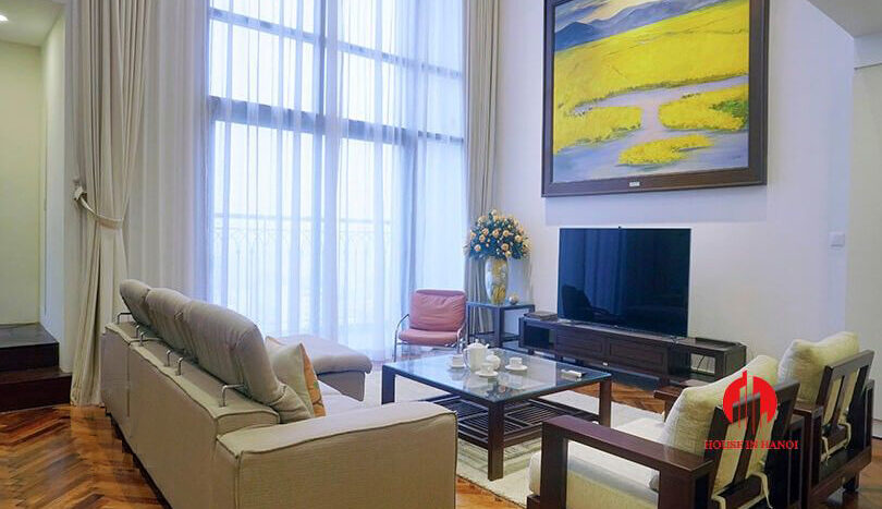 duplex apartment for rent in hoang thanh tower 3