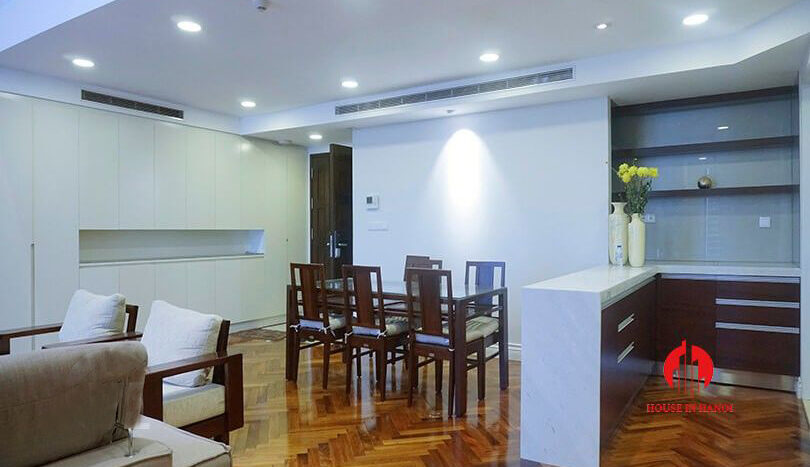 duplex apartment for rent in hoang thanh tower 4