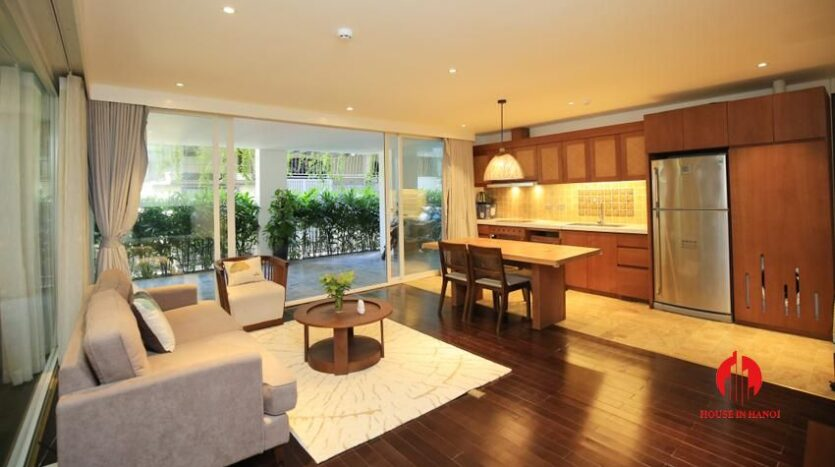 high standard 2BR apartment in tay ho 1