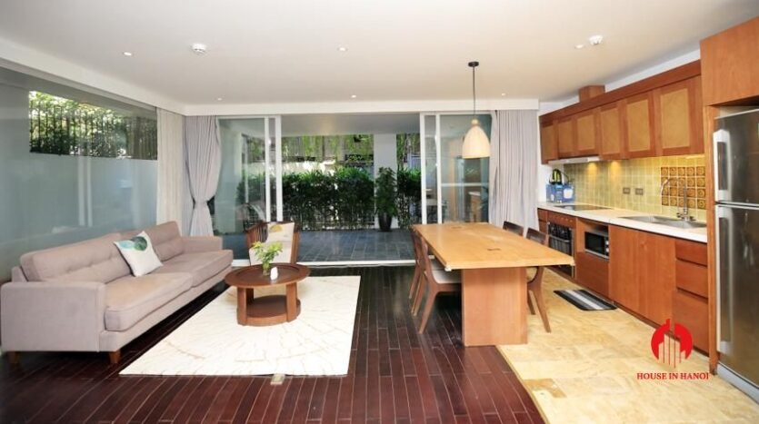 high standard 2BR apartment in tay ho 2
