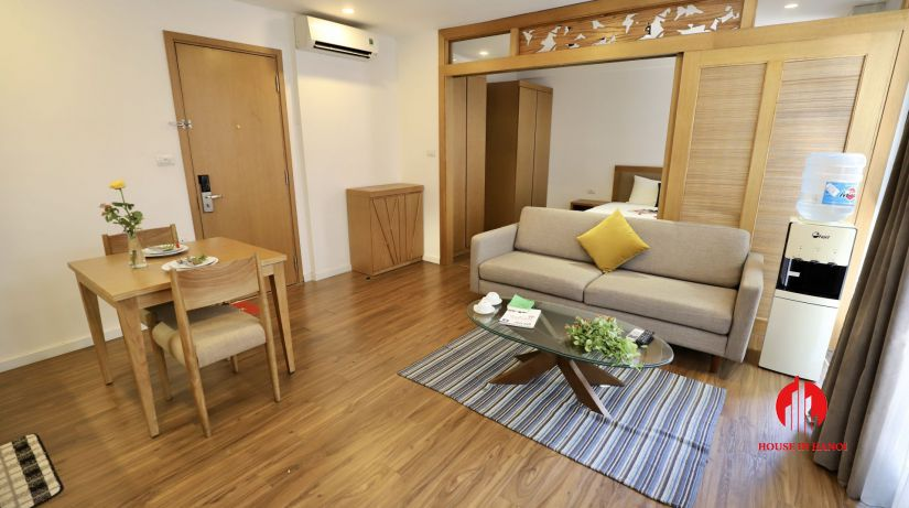 japanese style 1br apartment for rent on Dao Tan 4
