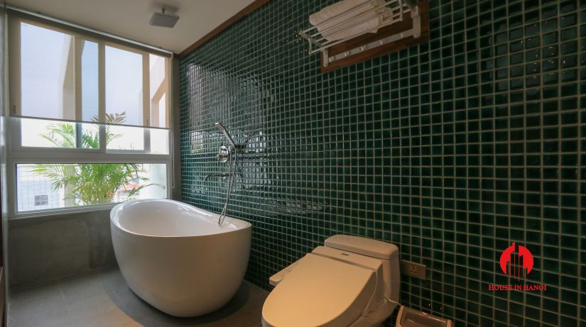 japanese style 3BR apartment for rent on dao tan ba dinh 15