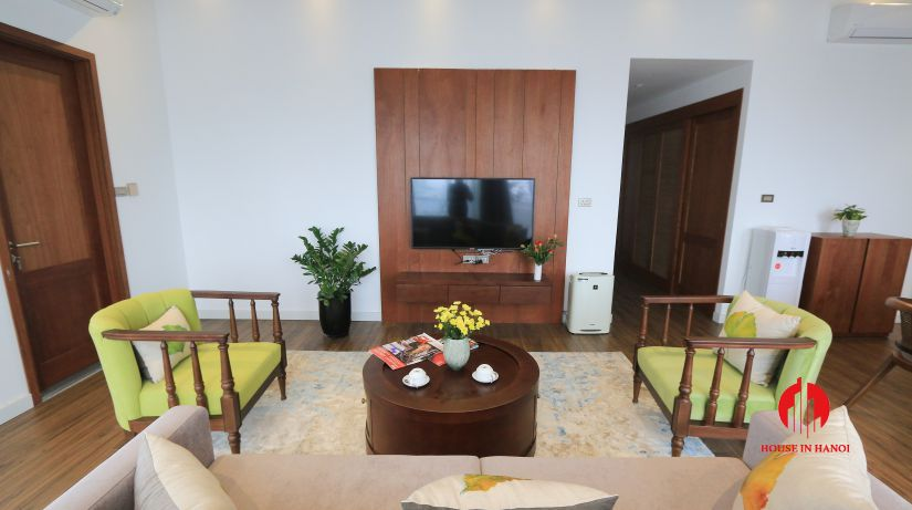 japanese style 3BR apartment for rent on dao tan ba dinh 2
