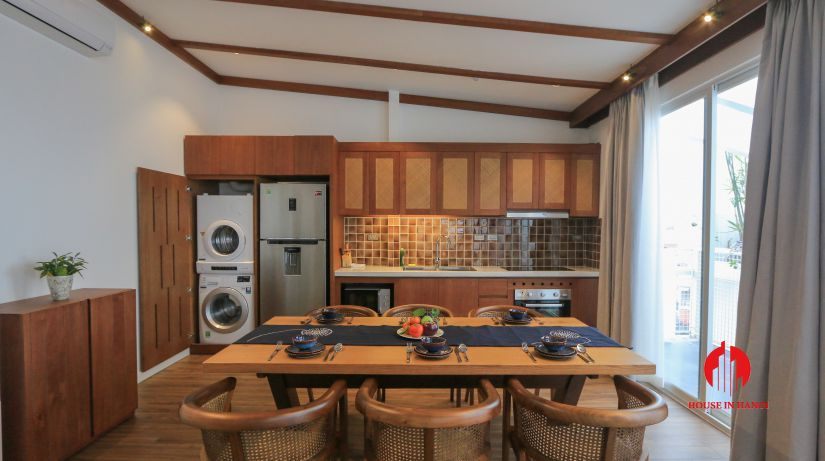 japanese style 3BR apartment for rent on dao tan ba dinh 4