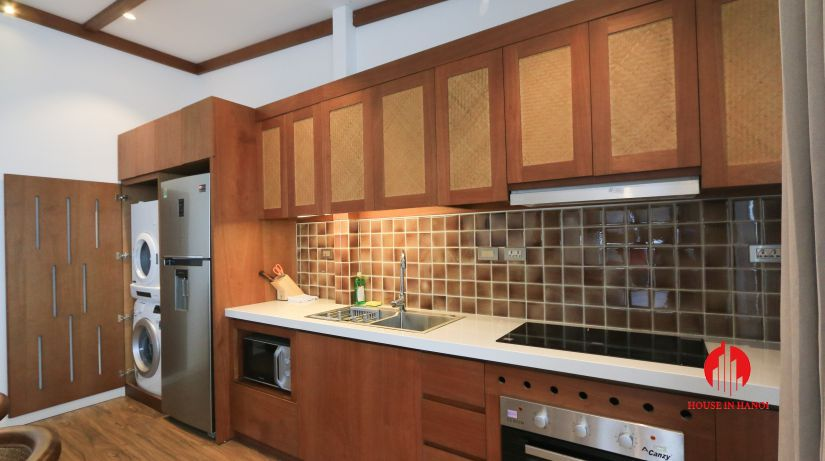 japanese style 3BR apartment for rent on dao tan ba dinh 7