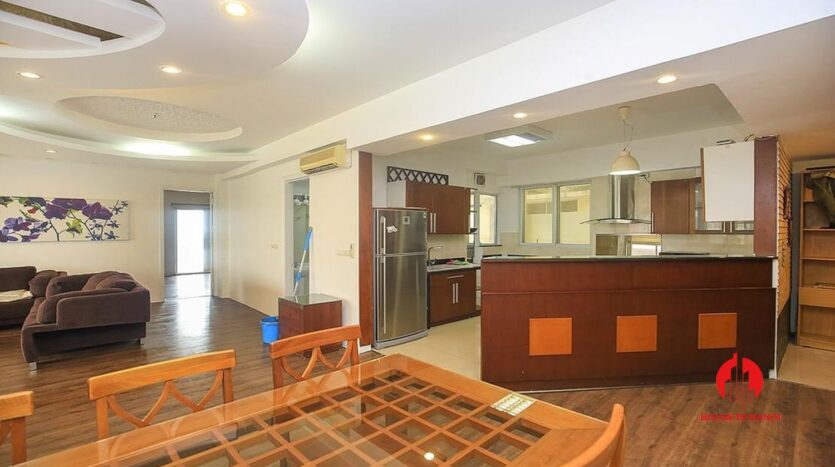 lake view 150m2 apartment for rent in g2 ciputra 3