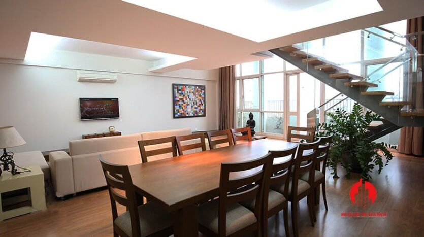 lavish penthouse for rent in ciputra 11