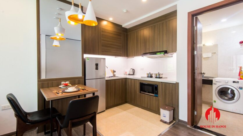 lovely 1 bedroom apartment for rent on linh lang 1