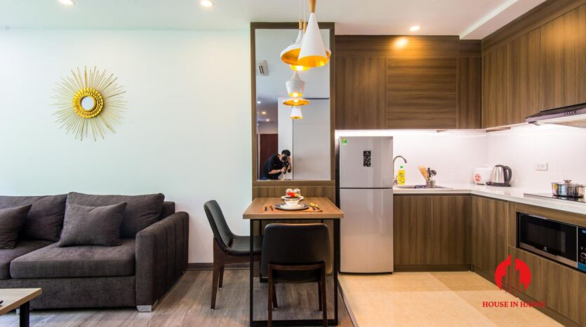 lovely 1 bedroom apartment for rent on linh lang 13