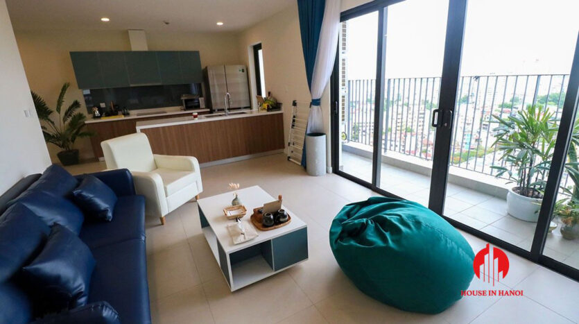 low price lake view 3BR apartment for rent in Kosmo Tay Ho 18