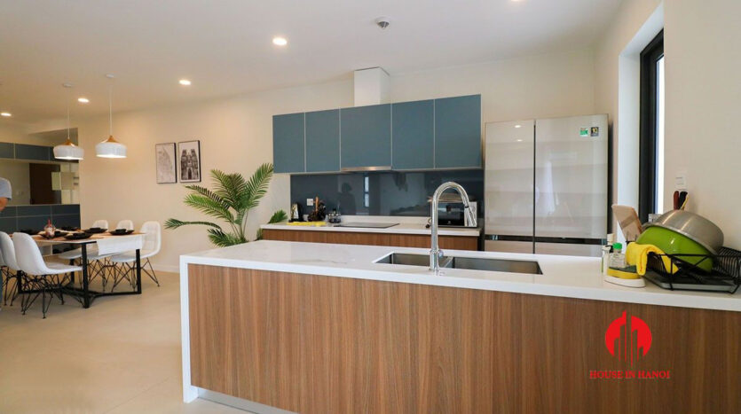 low price lake view 3BR apartment for rent in Kosmo Tay Ho 2