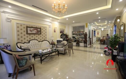 neo classical villa for rent in vinhomes the harmony 2