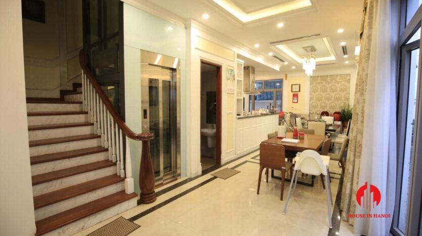 neo classical villa for rent in vinhomes the harmony 5