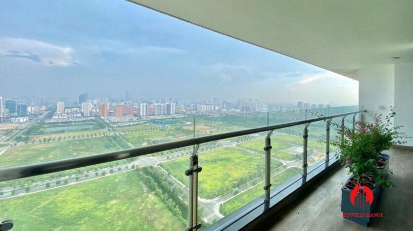 nice penthouse for rent in ngoai giao doan 6