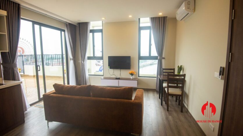 terrace apartment for rent in tay ho 3