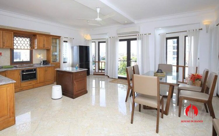 triplex apartment for rent in tay ho 2